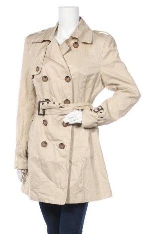 Γυναικεία καμπαρντίνα Yes Or No, Μέγεθος XL, Χρώμα  Μπέζ, Βαμβάκι, Τιμή 8,64€