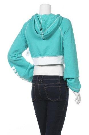 Дамски суичър Juicy Couture, Размер XS, Цвят Зелен, 60% памук, 40% полиестер, Цена 73,50лв.