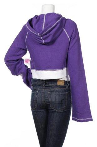 Дамски суичър Juicy Couture, Размер S, Цвят Лилав, 60% памук, 40% полиестер, Цена 24,50лв.
