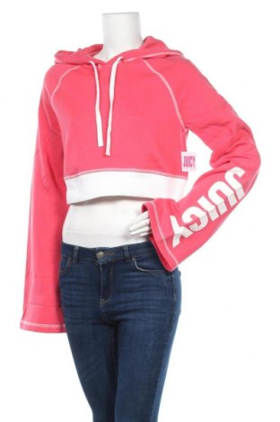 Дамски суичър Juicy Couture, Размер XS, Цвят Розов, 60% памук, 40% полиестер, Цена 21,56лв.