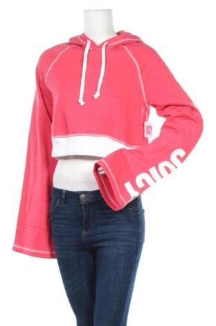 Дамски суичър Juicy Couture, Размер S, Цвят Розов, 60% памук, 40% полиестер, Цена 21,56лв.