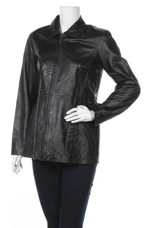Γυναικείο δερμάτινο μπουφάν Style & Co, Μέγεθος S, Χρώμα Μαύρο, Γνήσιο δέρμα, Τιμή 11,04€
