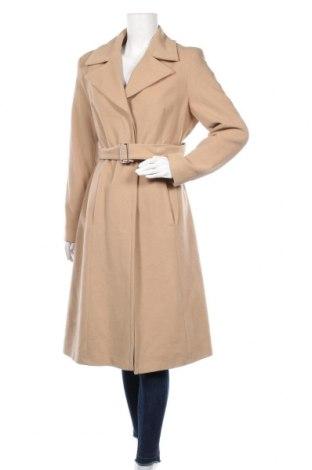 Γυναικείο παλτό Apart, Μέγεθος L, Χρώμα Καφέ, 70% μαλλί, 20% πολυαμίδη, 10% κασμίρι, Τιμή 96,77€