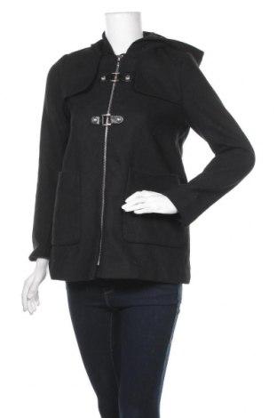 Дамско палто Chicoree, Размер XS, Цвят Черен, 90% полиестер, 10% вълна, Цена 19,95лв.