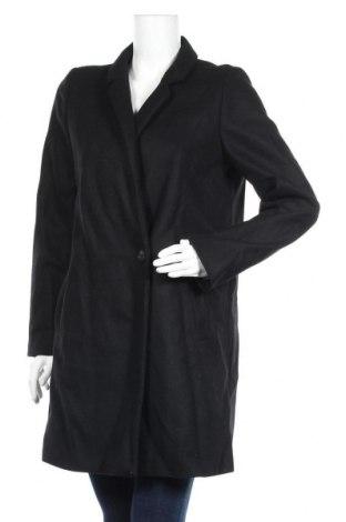 Дамско палто Etam, Размер M, Цвят Черен, 70% вълна, 25% полиамид, 5% полиестер, Цена 156,75лв.