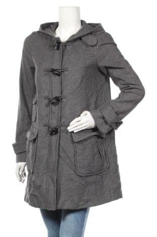 Дамско палто Gap, Размер M, Цвят Сив, 71% вълна, 22% полиамид, 7% други тъкани, Цена 42,89лв.