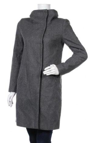 Γυναικείο παλτό Hallhuber, Μέγεθος S, Χρώμα Γκρί, 75% μαλλί, 25% πολυαμίδη, Τιμή 28,87€