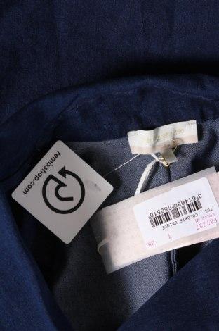 Дамско палто La Fee Maraboutee, Размер M, Цвят Син, 75% памук, 23% полиестер, 2% еластан, Цена 48,42лв.