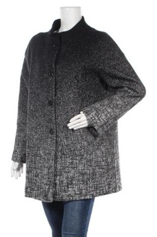 Дамско палто Le Phare De La Baleine, Размер XL, Цвят Черен, 50% полиестер, 26% полиамид, 24% вълна, Цена 158,47лв.