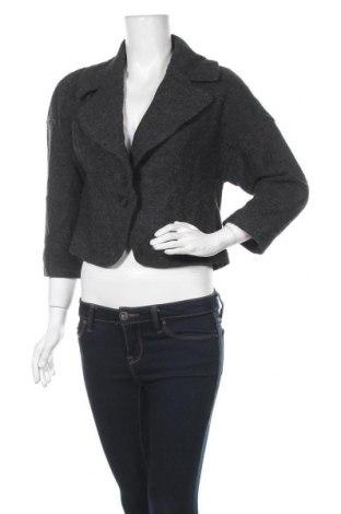 Дамско палто Loft By Ann Taylor, Размер S, Цвят Сив, 62% вискоза, 38% вълна, Цена 11,67лв.