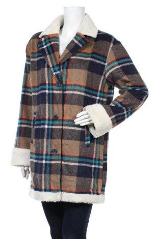 Дамско палто Me Jane, Размер M, Цвят Многоцветен, 95% полиестер, 5% вълна, Цена 51,45лв.