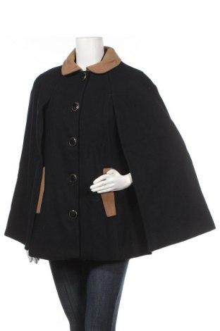 Дамско палто Mint & Berry, Размер L, Цвят Черен, 64% вълна, 19% полиестер, 10% вискоза, 5% акрил, 2% полиамид, Цена 45,92лв.