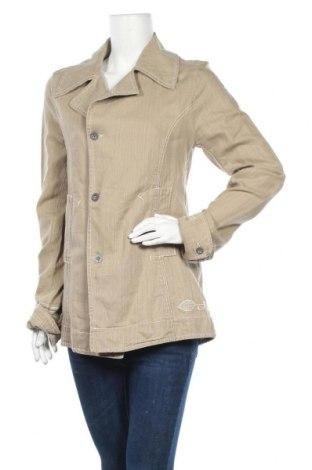 Дамско палто Nile, Размер S, Цвят Бежов, 39% лен, 37% памук, 24% лиосел, Цена 12,29лв.