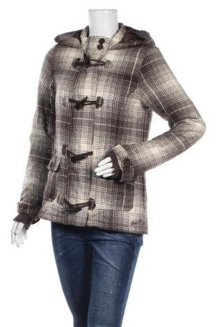 Дамско палто O'neill, Размер M, Цвят Кафяв, 15% вълна, 85% вискоза, Цена 42,05лв.