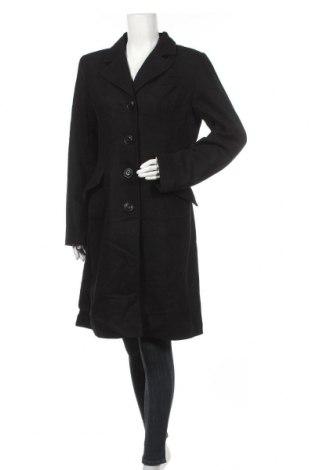 Дамско палто Ricki's, Размер L, Цвят Черен, 50% вълна, 40% полиестер, 10% други тъкани, Цена 24,57лв.