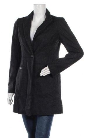 Дамско палто Smart Set, Размер S, Цвят Сив, 50% полиестер, 50% вълна, Цена 46,88лв.