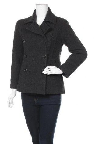 Дамско палто St. John's Bay, Размер S, Цвят Сив, 70% вълна, 20% полиамид, 10% кашмир, Цена 19,69лв.