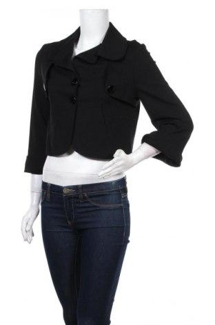 Дамско палто Vicolo, Размер M, Цвят Черен, 59% вискоза, 35% полиамид, 6% еластан, Цена 9,45лв.
