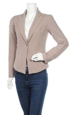 Γυναικείο σακάκι Ashley Brooke, Μέγεθος S, Χρώμα  Μπέζ, 94% πολυεστέρας, 6% ελαστάνη, Τιμή 12,73€