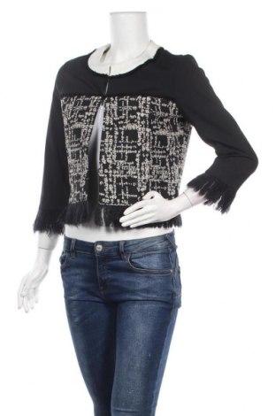 Дамско сако Bleu Blanc Rouge, Размер M, Цвят Черен, 95% полиестер, 5% еластан, Цена 28,35лв.