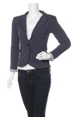 Γυναικείο σακάκι Famous, Μέγεθος S, Χρώμα Μπλέ, 95% βαμβάκι, 5% ελαστάνη, Τιμή 20,41€