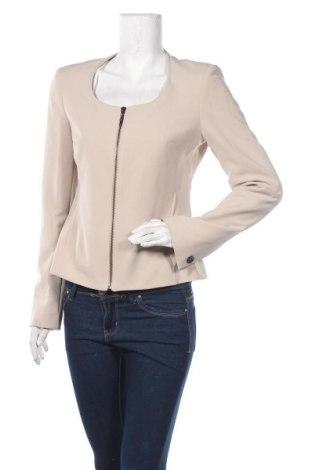 Γυναικείο σακάκι Gaudi, Μέγεθος M, Χρώμα  Μπέζ, 94% πολυεστέρας, 6% ελαστάνη, Τιμή 76,94€