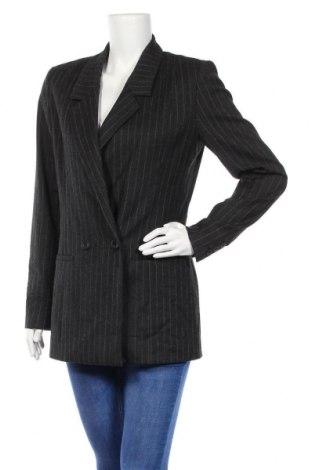 Дамско сако Gestuz, Размер L, Цвят Сив, 96% полиестер, 4% еластан, Цена 32,40лв.
