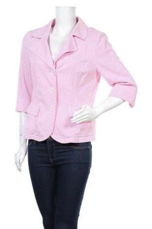 Дамско сако Hucke, Размер L, Цвят Розов, 100% памук, Цена 3,15лв.