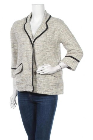 Дамско сако La Fee Maraboutee, Размер M, Цвят Бежов, 88% памук, 12% полиестер, Цена 28,80лв.