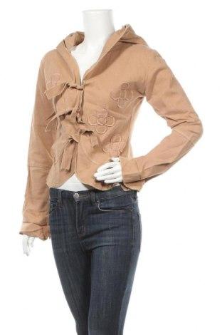 Дамско яке, Размер S, Цвят Кафяв, Полиестер, Цена 8,14лв.
