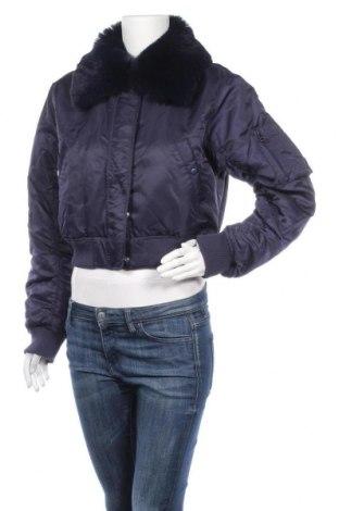 Γυναικείο μπουφάν BDG, Μέγεθος L, Χρώμα Μπλέ, Πολυαμίδη, Τιμή 16,52€