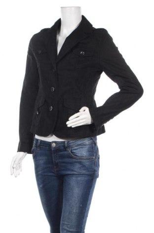 Дамско яке Biaggini, Размер S, Цвят Черен, 55% лен, 45% памук, Цена 31,92лв.
