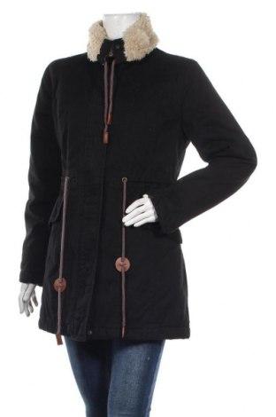 Дамско яке Even&Odd, Размер M, Цвят Черен, Памук, Цена 45,82лв.