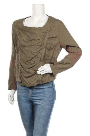 Дамско яке H&M, Размер L, Цвят Зелен, 100% вискоза, Цена 8,40лв.
