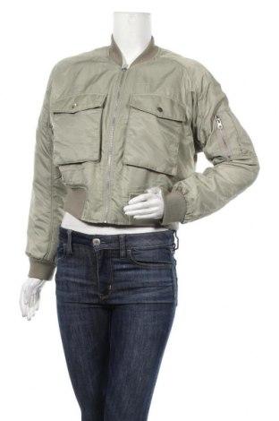 Дамско яке H&M Divided, Размер M, Цвят Зелен, Полиамид, Цена 33,92лв.