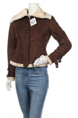 Дамско яке Laura Scott, Размер S, Цвят Кафяв, 55% акрил, 45% полиестер, Цена 25,25лв.