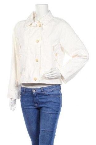 Дамско яке Tom Tailor, Размер S, Цвят Бял, 98% памук, 2% еластан, Цена 17,85лв.