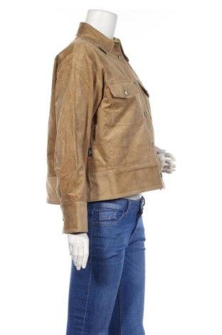 Дамско яке Won Hundred, Размер XS, Цвят Бежов, 98% памук, 2% еластан, Цена 52,92лв.