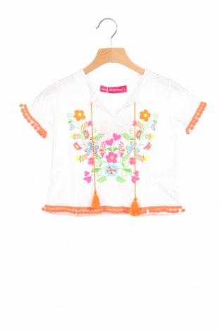 Παιδική μπλούζα Agatha Ruiz De La Prada, Μέγεθος 18-24m/ 86-98 εκ., Χρώμα Λευκό, Βαμβάκι, Τιμή 4,08€
