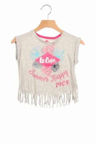 Детска блуза Lee Cooper, Размер 18-24m/ 86-98 см, Цвят Сив, 95% памук, 5% еластан, Цена 27,00лв.