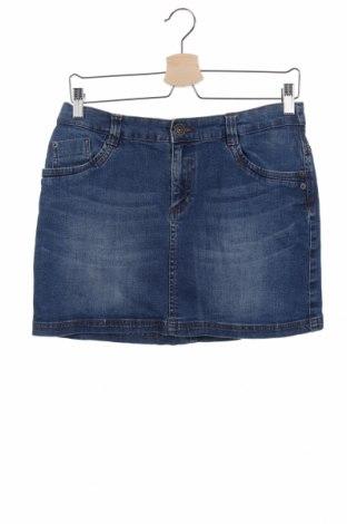 Παιδική φούστα Charles Vogele, Μέγεθος 15-18y/ 170-176 εκ., Χρώμα Μπλέ, 98% βαμβάκι, 2% ελαστάνη, Τιμή 3,31€
