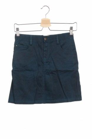 Παιδική φούστα Litlle Karl Marc John, Μέγεθος 14-15y/ 168-170 εκ., Χρώμα Μπλέ, 97% βαμβάκι, 3% ελαστάνη, Τιμή 8,89€