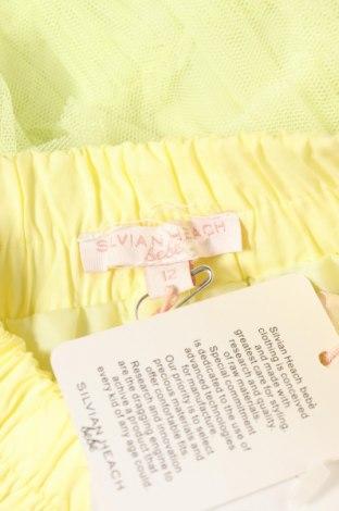 Παιδική φούστα Silvian Heach, Μέγεθος 9-12m/ 74-80 εκ., Χρώμα Κίτρινο, Πολυεστέρας, Τιμή 8,77€