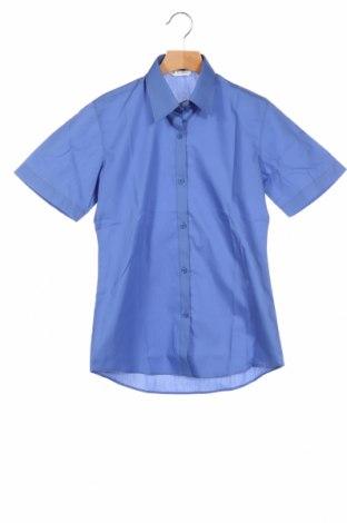 Παιδικό πουκάμισο Trutex, Μέγεθος 11-12y/ 152-158 εκ., Χρώμα Μπλέ, 65% πολυεστέρας, 35% βαμβάκι, Τιμή 4,42€