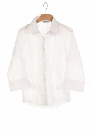 Παιδικό πουκάμισο Trutex, Μέγεθος 11-12y/ 152-158 εκ., Χρώμα Λευκό, 65% πολυεστέρας, 35% βαμβάκι, Τιμή 4,95€