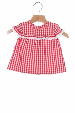 Παιδικό φόρεμα Chicco, Μέγεθος 6-9m/ 68-74 εκ., Χρώμα Κόκκινο, Βαμβάκι, Τιμή 18,56€