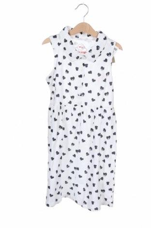 Παιδικό φόρεμα Lemon Beret, Μέγεθος 6-7y/ 122-128 εκ., Χρώμα Λευκό, Βαμβάκι, Τιμή 18,10€