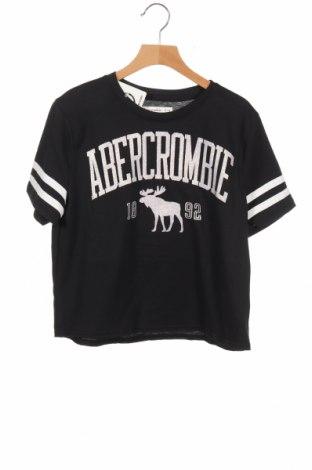 Παιδικό μπλουζάκι Abercrombie Kids, Μέγεθος 11-12y/ 152-158 εκ., Χρώμα Μαύρο, 60% βαμβάκι, 40% πολυεστέρας, Τιμή 19,70€