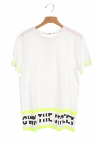 Dětské tričko  Esprit, Velikost 11-12y/ 152-158 cm, Barva Bílá, 100% bavlna, Cena  261,00Kč