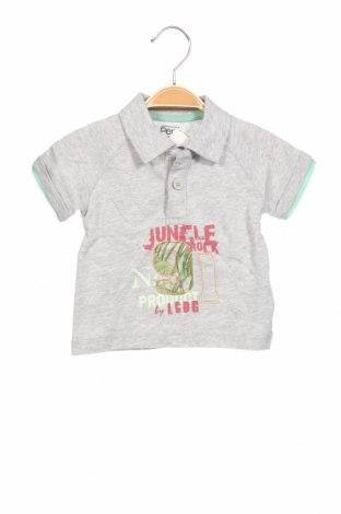 Παιδικό μπλουζάκι La Compagnie des Petits, Μέγεθος 9-12m/ 74-80 εκ., Χρώμα Γκρί, Βαμβάκι, Τιμή 6,43€